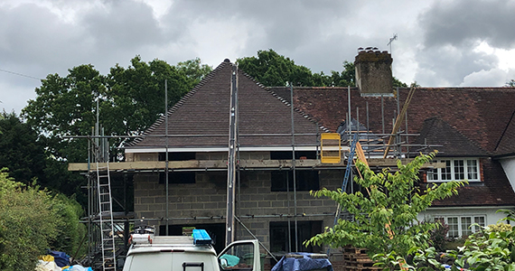 new house building work in west sussex