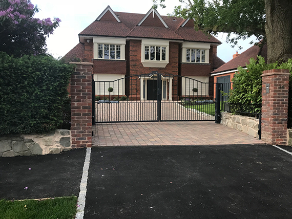 new house build by our contractors