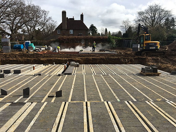 our-new-build-client-site-groundwork-area